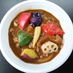 たけ一 - 料理写真:夏野菜カレー