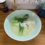 くぬぎ屋 - オリジナルワンタンスープ 塩(小)