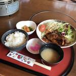 赤から - 生姜焼き定食