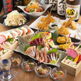 宴会コースは3500円から用意しております。