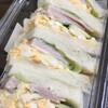 フランクス - 料理写真:ミックスサンド たっぷり玉子 ジューシーハム しっとりパンで美味しい