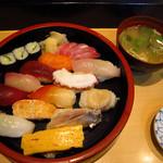 いろは寿司 - 【ランチ】 にぎり1.7人前