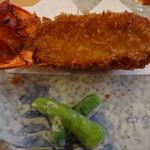 13643537 - 伊勢海老を使ったグラタンみたいな料理。とてもおいしかった。