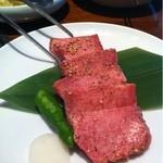 焼肉トラジ - 上タン塩  1450円