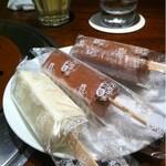 焼肉トラジ - 食後のデザート(サービス)