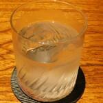 WA-DINNER き - 杜の妖精(ロック)/鹿児島県産の焼酎