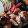 味のい - 料理写真:若鶏味噌焼定食(1050円)