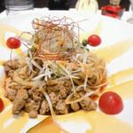 ebisugyouzataihouki - ■汁なし坦々麺 ¥950 税込             ※小鉢、天心、半ライスorデザート付