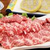 """Mutsugorou - 料理写真:むつ五郎の代名詞""""極上馬刺し"""""""