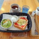 ミクスチャー - 本日のトーストセット(モーニングメニュー)600円