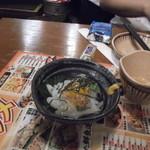 13645557 - いか納豆です。後輩が殆ど食いました(笑)