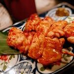 居酒屋 金市朗 - 地養鶏串焼き