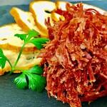 加藤牛肉店シブツウ - 手ほぐしコンビーフ