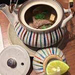 モリタ屋 - 松茸と牛肉の土瓶蒸し