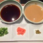 モリタ屋 - ポン酢と胡麻だれ
