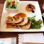 Kitchen puranzo - 豚生姜焼きプレート