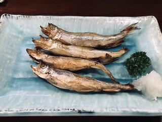 魚一心 - 道産ししゃも(840円税別)
