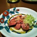 きんぼし - 鶏レバ刺し 低温真空調理