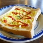 煎売喫茶 治郎兵衛 - 2012.06 モーニングは玉子トーストでした