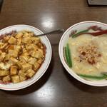 美浜 - 料理写真:刀削麺セット