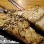 炭火焼専門食処 白銀屋 - あこう鯛のひもの