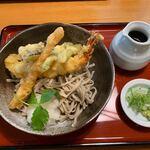 第一藤駒 - 料理写真:【えび天おろしそば…1,300円】2020/8
