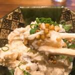 蕎麦五反 - そば屋のポテトサラダアップ