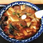 神武食堂 - 辛い広東麺 850円