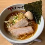 京都ラーメンとりの助 - 料理写真:特製冷やし醤油ラーメン