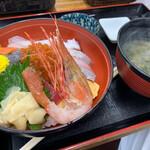 カキ小屋 - 海鮮丼定食