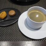 レストラン ラ・フロレゾン・ドゥ・タケウチ - ~LE CAFÉ ET SES PRTITS FOURS~珈琲、小菓子と共に