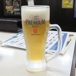 居酒屋 大黒 - プレミアムモルツ生ビール