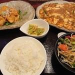 中華厨屯知 - ダブルBランチ