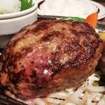 Mitoyazawa - 黒毛和牛100%デミグラスハンバーグダブル