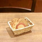 ステラおばさんのクッキー - その4@苺りんぐ、キャラメルチョコチップ、エスプレッソコーヒー、アーモンドチョコチップ、チョコレートチップ