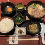 登起波分店  登  - 米沢牛 牛鍋定食 ¥2300