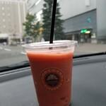 サンマルクカフェ - ブラッドオレンジスムージー 440→374円