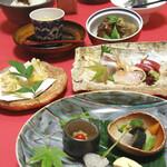 中之島 穂の河 - はなまち会席風料理2500円(税抜)
