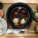 ロヂウラ食堂 - 和牛ビーフシチュー定食