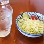 チャーンタイ レストラン - セットのサラダ