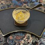 花咲み荼 - 本物の愛玉子 レモンピールと生姜入り