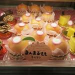 ARAKI - 夏季限定の桃メニュー。