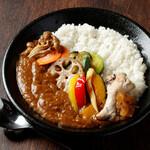 赤坂時シラズ - ランチ 野菜カレー