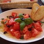 ギャラリー風の道&カフェ - 料理写真:トマトの冷製パスタ