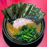 王道いしい 市原五井店 - ラーメン750円麺硬め。海苔増し100円。