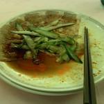赤坂 四川飯店 - 雲白肉です。