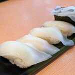 江戸前廻転寿司 森の石松 - 料理写真:いか5貫