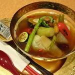会席料理 かど36 - 七宝温野菜