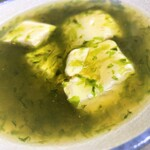 生海苔豆腐