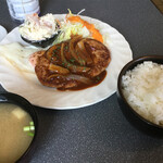 紫園 - ハンバーグ定食